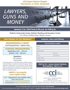 Lawyers, Guns & Money flyer